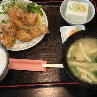 唐揚げ定食(きむら)