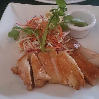チキンの塩焼き ゆず胡椒(Chez Kenzo Bar )