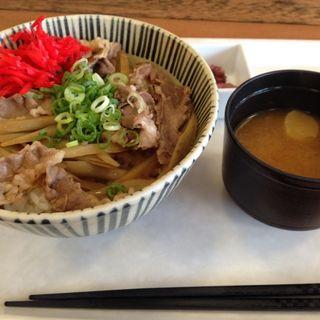 神戸牛めし(こかげ亭 垂水PA店 )