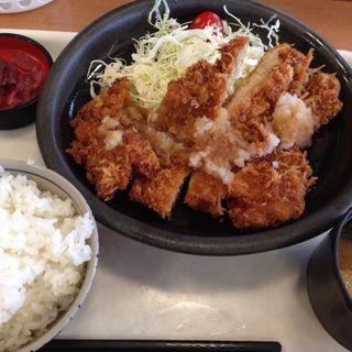 オロシチキンかつ定食(こかげ亭 垂水PA店 )