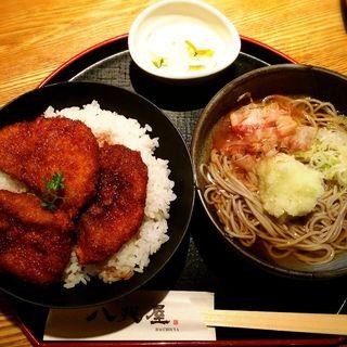 ソースカツ丼セット(八兆屋 福井駅店 (ハッチョウヤ))
