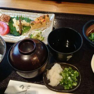 A定食(手打そば 一会 )