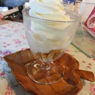 ソフトクリーム(小さいカフェ グラン)