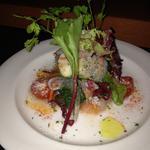魚貝のサラダ