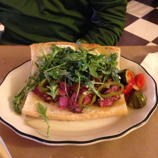 Roast Beef Sandwich (The Grass Onion)