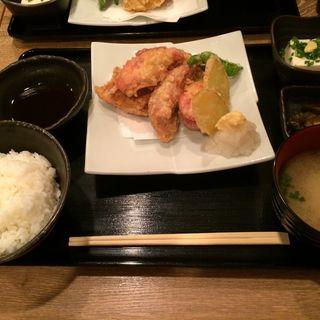 とり天定食(いく昌 (いくまさ))