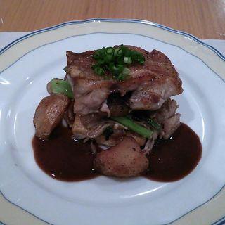 チキンステーキ(レストランウチエ)