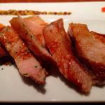ホエー豚のステーキ