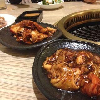 豚ホルモン(焼肉 三水苑 東口店 (サンスイエン))