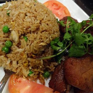 Pork Chop and Fried Rice(New Malaysia)