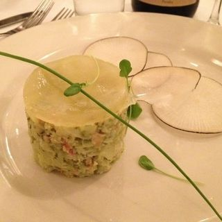 Crab and avocado app(Basta Pasta)