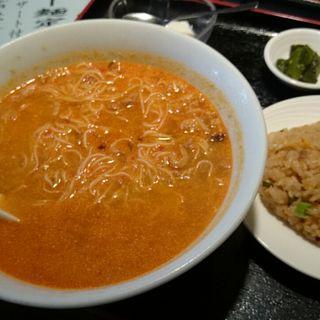 担々麺定食(真水無香 (シンスイムコウ))