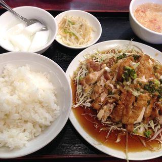 油淋鶏定食(徐福苑 )