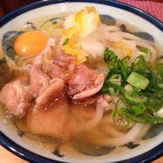 ゆず香る鳥肉おろし(ゆず屋製麺所)