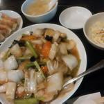 中華丼セット