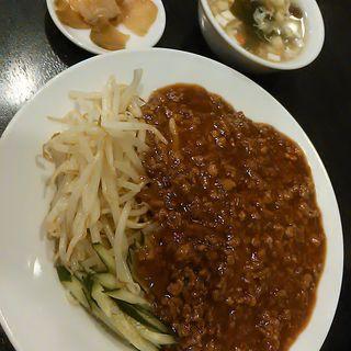 ジャージャー麺セット(中華料理 唐園 )