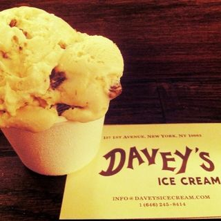 Rum and coke raisin(Davey's ice cream)