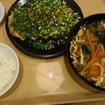 ねぎ味噌焼き餃子定食(青源 パセオ店 )