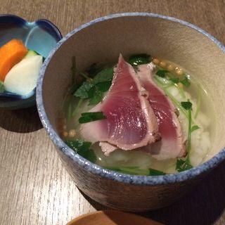 カツオ茶漬け(旬菜酒房 さ蔵 )