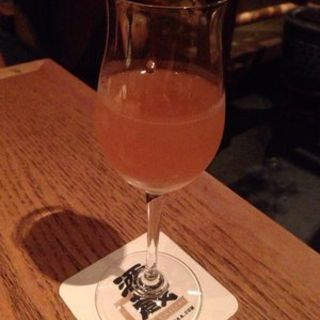 Glass of plum wine(SAKAGURA)