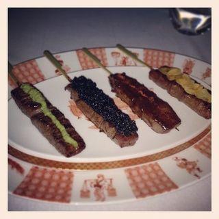 Kobe Beef Skewers (4 flavors)(Megu)