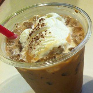 カフェモカ(アイス)(manu coffee)