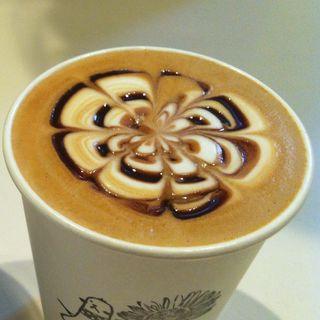 カフェモカ(ホット)(manu coffee)
