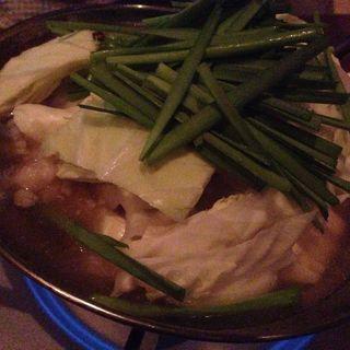 モツ鍋(黒桃)