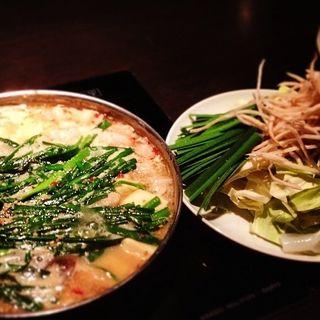 モツ鍋(やま中 博多シティ店)