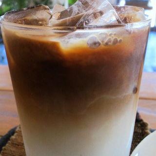 アイスカフェラテ(sato coffee)