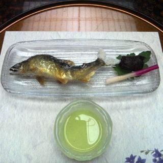 鮎の塩焼き(会席コース)(京料理 京の宿菊水)