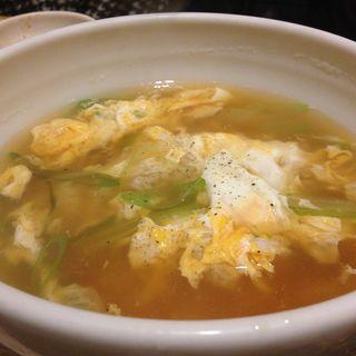 卵スープ(焼肉 三水苑 東口店 (サンスイエン))
