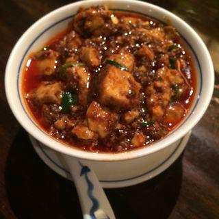 陳麻婆豆腐(ライス付き)(陳麻婆豆腐 クイーンズスクエア店 (チンマーボードウフ))