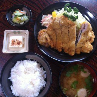 梅カツ定食(とんかつ三枡 (トンカツミマス))