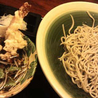本日の日替わり/太白胡麻油で揚げたつけ天蕎麦(神田 味喜庵 )