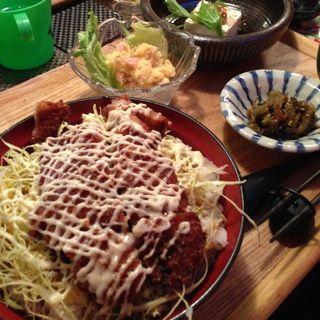 ソースかつ丼定食(元町Umahalo (ウマハロ))