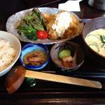 チキン南蛮+冷汁+麦飯(新寮 (シンリョウ))