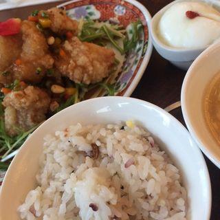 油淋鶏定食(痩明樓 )