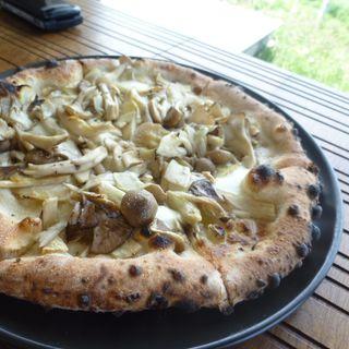きのこピザ(リップル)