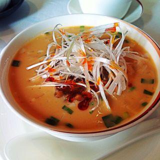 冷し担々麺(龍天門 (リュウテンモン))