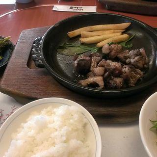 地鶏定食(川田屋 (かわたや))