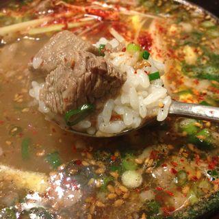 カルビスープ(焼肉 サントキ (サントキ))