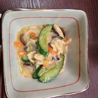 バンバンジー風サラダ(ままや )