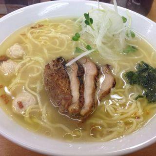 鶏塩ラーメン(富白 )