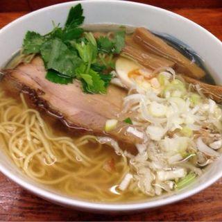 ゆずラーメン(麺屋 ひょっとこ )