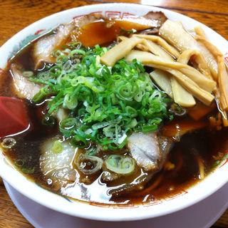 竹入り中華そば(新福菜館 三条店)