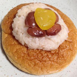金時赤飯パン(ニューちどり)