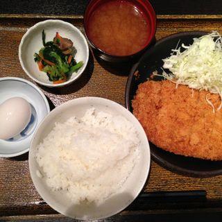 ジャンボチキンカツ定食(月の雫 新大阪店 )