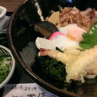 ぶっかけうどん(麺坊 万作 (めんぼう まんさく))