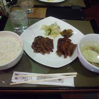 牛たん定食(伊達の牛たん本舗 東インター店 (だてのぎゅうたん))